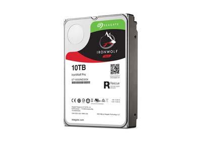 Récupération de données disque dur Seagate IronWolf Pro