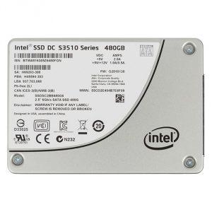 SSD DC S3510 Series Data Recovery
