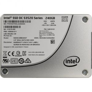 SSD DC S3520 Series Data Recovery