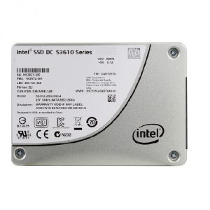 SSD DC S3610 Series Data Recovery