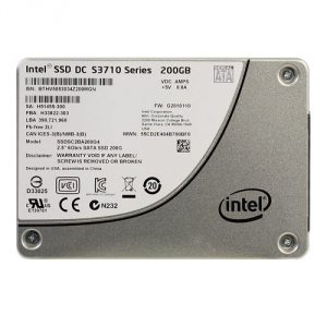 SSD DC S3710 Series Data Recovery