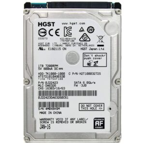 HGST Internal Hard Drive Data Recovery
